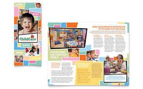 school brochure design ideas daycare brochures daycare brochure design ideas learning