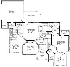 attractive english manor floor plan plans house and