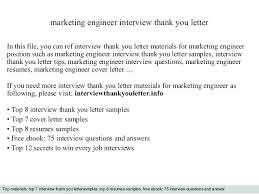Sample Thank You Letter After Interview Engineer Milviamaglione Com
