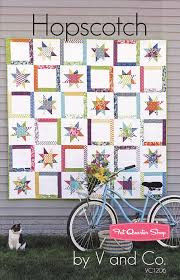 171 best Quilts - Stars! images on Pinterest | Crafts, Carpets and ... & V & Co's Hopscotch Quilt Pattern V & Co. Patterns - Fat Quarter Shop This Adamdwight.com