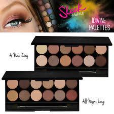 sleek makeup i divine palette 12 shades mineral based eyeshadow