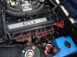 bmw e30 with ireland engineering red performance plug wire set