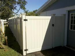 FL Vinyl Fencing Contractor Installation Wholesale