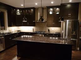Black Kitchen Cabinets The Charm In Dark Kitchen Cabinets With Kitchen Decor And Dark
