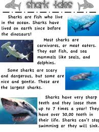 First Grade Fanatics Whales And Sharks Printables For Mini