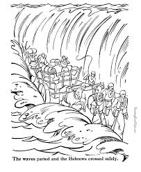 Printable Coloring Pages For Kids About Moses Baby Moses Coloring