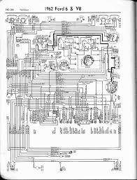 57 65 ford wiring diagrams 1962 6 v8 fairlane