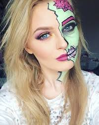28 collection of zombie makeup drawing high quality free easy halloween makeup