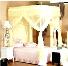 Walmart Mosquito Net Curtains For Canopy Bed King Size With 4 ...