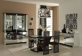 Chair Set Contemporary Dining Room Furniture Set With Glass Table - Glass dining room furniture sets