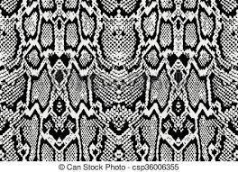 Python Pattern Best Snake Python Skin Texture Seamless Pattern Black On White