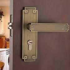 front door handlesetDouble Sided Door Handle Lock Double Lock Front Door Hardware
