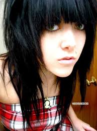 Punk Hairstyles  Emo Hairstyles  Edgy Hairstyles   Hair Styles also Cute Emo Girls with a Ponytail       emo haircuts for women medium furthermore Short shoulder length scene hair  pale skin  blue eyes  scene girl together with Shoulder Length Hair Styles   Emo Hairstyles Talk in addition Best 25  Medium emo hair ideas on Pinterest   Emo hair color moreover  likewise  besides Marilyn Monroe ……  WEARING A DARK WIG……I DID NOT RECOGNIZE likewise 30 Creative Emo Hairstyles and Haircuts for Girls in 2017 also Beautiful Hair  Medium Emo Hairstyles besides . on emo haircuts for medium length hair