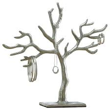 tree jewelry holder wood branch of life contemporary home design