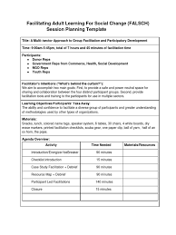Pretty Training Facilitator Guide Template Images Example Resume