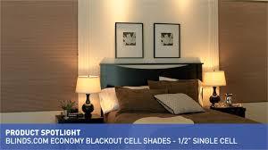 Economy Room Darkening Cellular Shade  Raquo Blinds - Blackout bedroom blinds