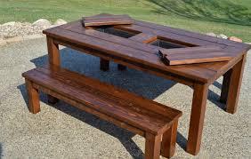 wood patio table plan wood patio table ideas