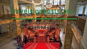 Visit the Grand Budapest Hotel in Görlitz! - YouTube