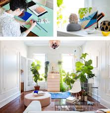 bring work home. Three Images: One Of Designer Alex Proba At Work, Decorative Items And Bring Work Home