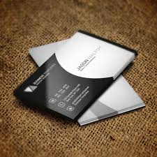 business card psd template black and white business card psd template template for free