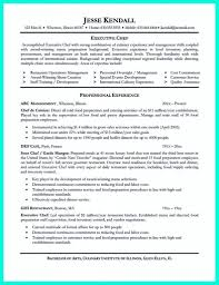 Sample Executive Chef Resume Pastry Chef Resume Skills Sidemcicek Com Template Picsecutive 18
