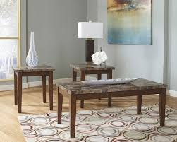 Living Room Coffee Table Set Theo 3 Piece Coffee And Two End Tables Package The Brick