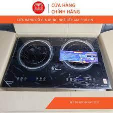 Bếp Từ Đôi 𝐁𝐀̉𝐎 𝐇𝐀̀𝐍𝐇 𝟐𝟒 𝐓𝐇𝐀́𝐍𝐆 Bếp Từ Genny GN-222T .  Inverter Tiết Kiệm Điện, Mặt Kính Chịu Lực Tốt giá cạnh tranh