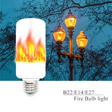 Fimitech Flame Light Bulbs Popular Fire Light Bulb New Arrival E27 E14 B22 2835smd Led