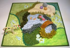 Fairy Tea Garden Playmat Quilt sewing pattern. | 36: Childrens ... & I know three little girls who will have a fairy play mat this christmas.  Fairy Tea Garden Playmat Quilt sewing pattern by thesilverpenny Adamdwight.com