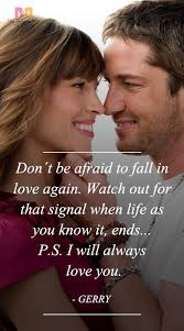 Ps I Love You Quotes Magnificent PS I Love You Quotes 48 Best Ones From The Movie In 48 Power
