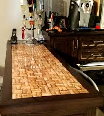 Wine Cork bar top