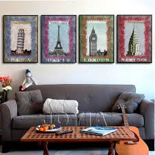 Small Picture Aliexpresscom Buy 4 Piece Canvas Painting Modern Paintings