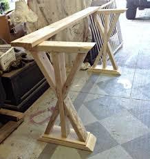diy sofa table. Beautiful Table DIY Entryway Table Sofa Console Rustic Table Throughout Diy Sofa Table