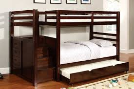 bunk bed with trundle and stairs. Simple Bunk Inside Bunk Bed With Trundle And Stairs Hello Furniture