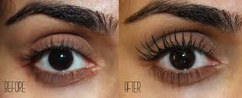 before after mascara