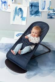 babybjörn bouncer balance soft mesh watercolor collection großer blauwahl 2017 large image 3
