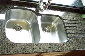 kitchen sink granite countertop drop in sinks for granite elegant rh estilodevida info