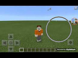 minecraft pe how to make an automatic slide glass door
