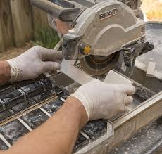 how to cut glass tiles for and