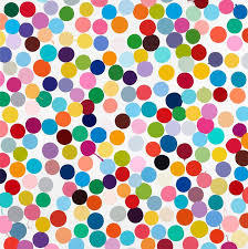 damien hirst colour space paintings west 24th street new york may 4 august 10 2018 gagosian