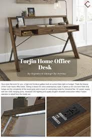 classy office desks furniture ideas. Ashley Furniture Torjin Light Brown Home Office Desk Classy Desks Ideas