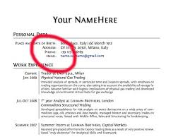 Phone Number On Resume