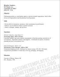 Purchase Resume Samples 7 Purchasing Agent Resume Samples Richard Wood Sop
