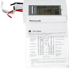 honeywell ct410b wiring diagram honeywell image amazon com honeywell tl8230a1003 line volt thermostat 240 208 vac on honeywell ct410b wiring diagram