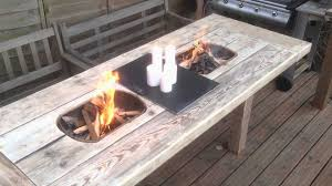how to build a fire pit table beautiful korean bbq table diy fire pit design ideas