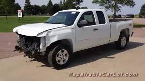 2007 Chevrolet Silverado LT QuadCab Z71 4x4 - Repairable wrecked ...