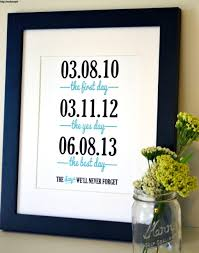 first anniversary gift ideas for him first wedding anniversary paper gift ideas for him first year