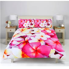 Bedding Quilt Cover Set - Frangipani & Wild Bedding Quilt Cover Set - Frangipani Adamdwight.com