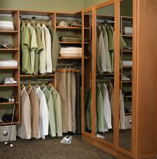 organizing room ideas wooden shelving and wardrobe with the mirror also carpet floor and classy portable