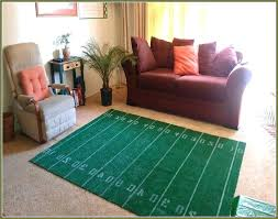 football field rug football field rug with regard to area home design ideas architecture